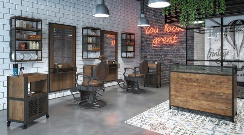 Barbería industrial
