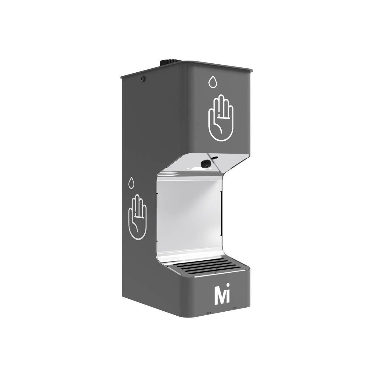 Dispensador a pedal de gel desinfectante